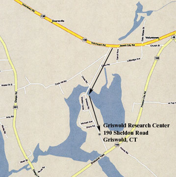 Map of our Griswold Research Center Location