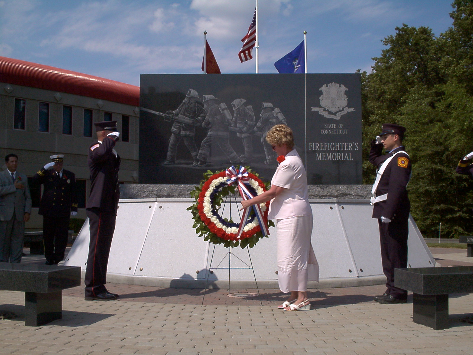 FF Memorial Dedication