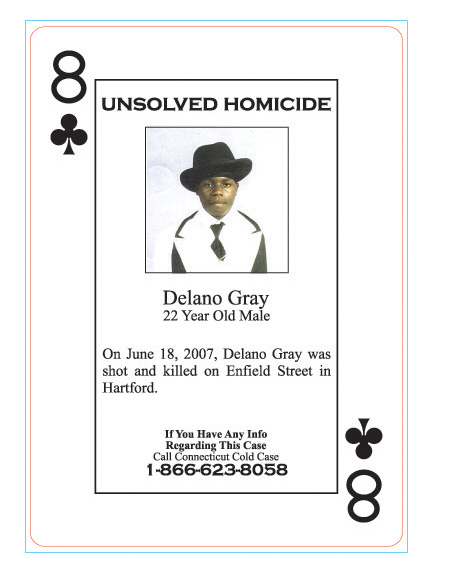 Delano Gray was shot to death on June 18, 2007.