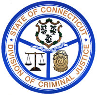 The Division of Criminal Justice logo.