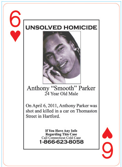 Anthony Parker was shot to death in Hartford in April 2011.