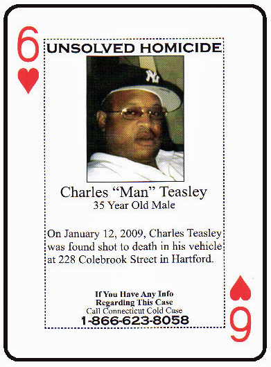 Charles Teasley was kidnapped and murdered in Hartford in January 2009.