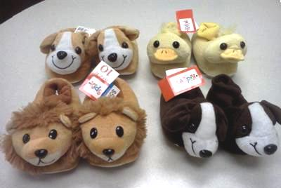 recalled animal slippers