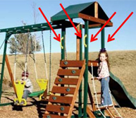 recalled swing set july 2011