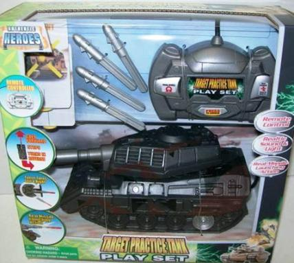 photo of recalled toy tank from Family Dollar