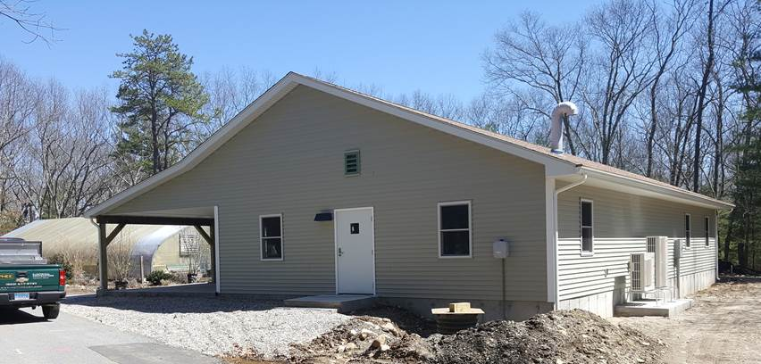 Camp Quinebaug Nursing and Horiculture Building Construction