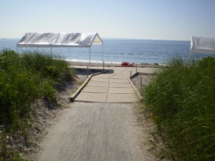 Accessible Boardwalk to Beach