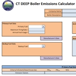 CTDEEP Boiler Emissions Calculator