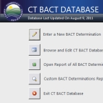 CT BACT Database Screenshot