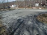 The turning area of the Candlewood Lake (Lattins Cove) boat launch.