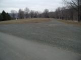 The parking area for the Candlewood Lake (Squantz Pond) boat launch.