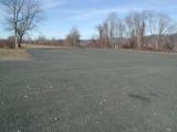The parking area for the Haddam Meadows boat launch.