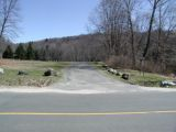 The access road to the Lake Lillinonah (Pond Brook) boat launch.