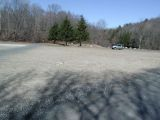 The parking area for the Lake Lillinonah (Pond Brook) boat launch.