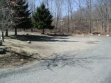The turning area of the Lake Lillinonah (Pond Brook) boat launch.