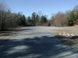 The parking area for the Pachaug Pond boat launch.