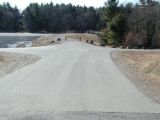 The turning area of the Pachaug Pond boat launch.