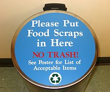 Compost Collection Container Sign