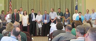 Organic Mechanics Award Recipients