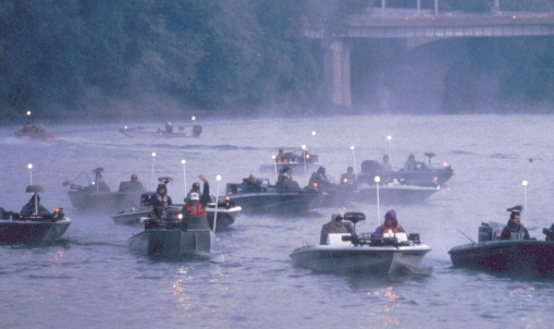 Photo of bass tournament