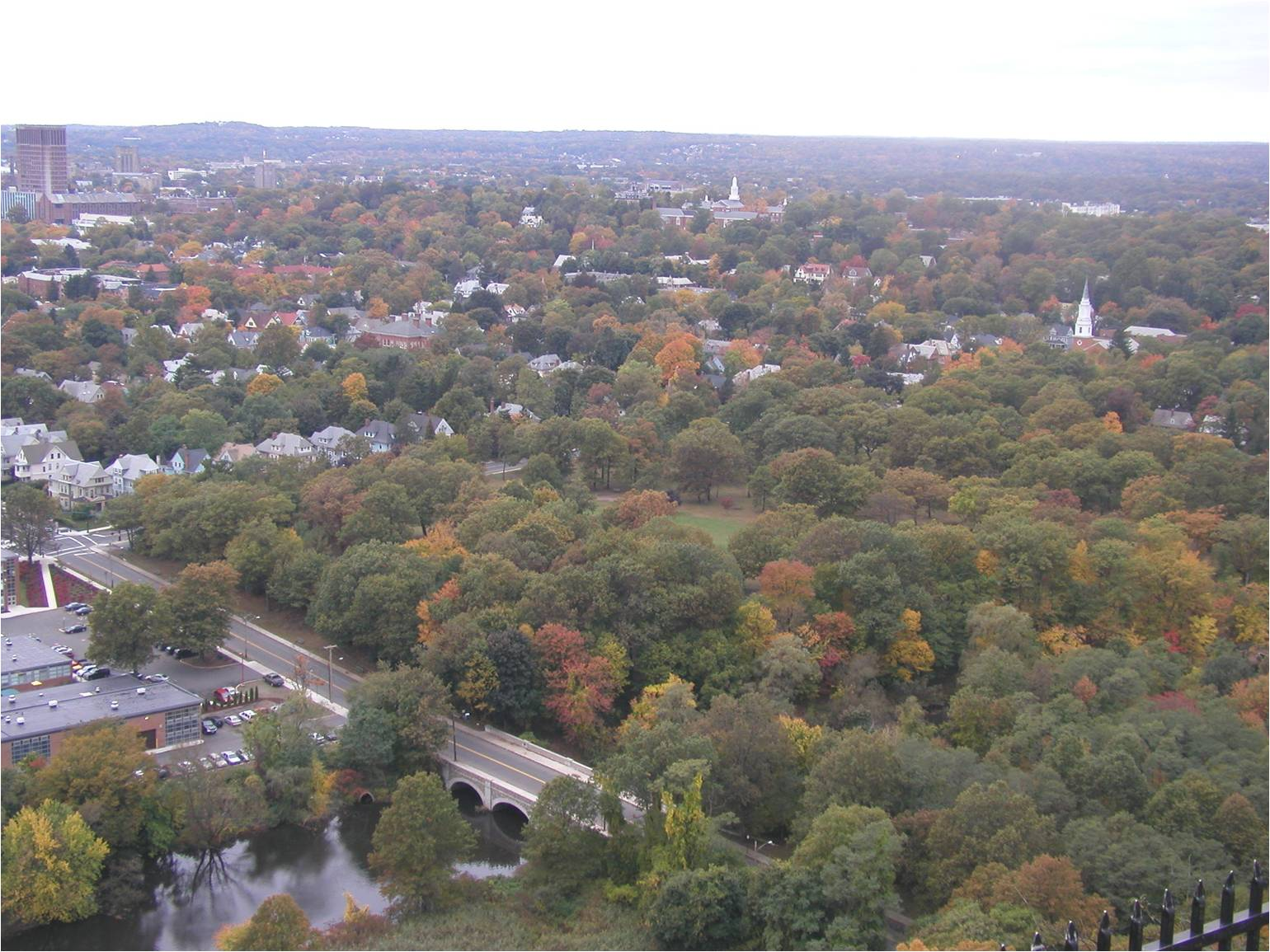 A View of New Haven from East Rock