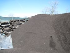 Pile of Milled Asphalt Shingles