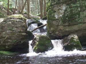 Waterfall at Enders State Forest