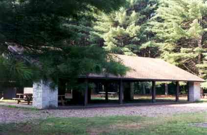 Pavilion at Peoples State Forest