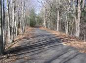 Eskers along abandoned portion of North Windham Road