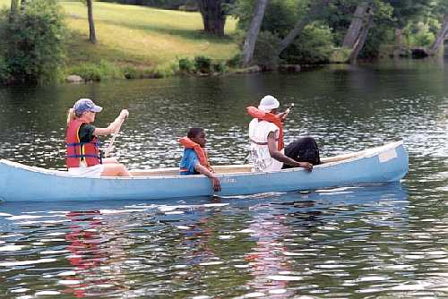 Canoeing at Housatonic Meadows State Park