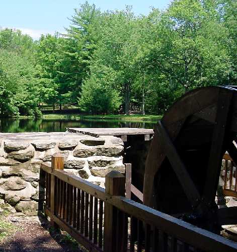 Water Wheel at Chatfield Hollow State Park