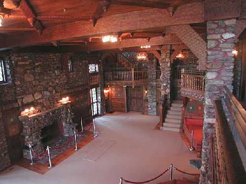Interior View of Gillette Castle