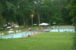 Swimming pools at Salt Rock State Campground