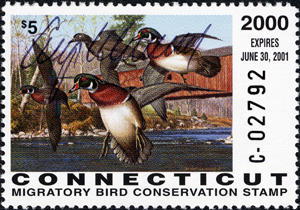 2000 CT Duck Stamp