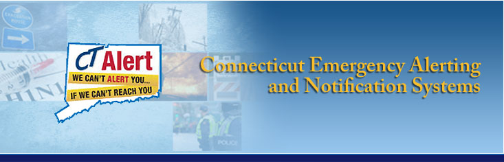 CT Alert - Emergency Notification System