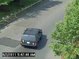 Photo of suspect vehicle