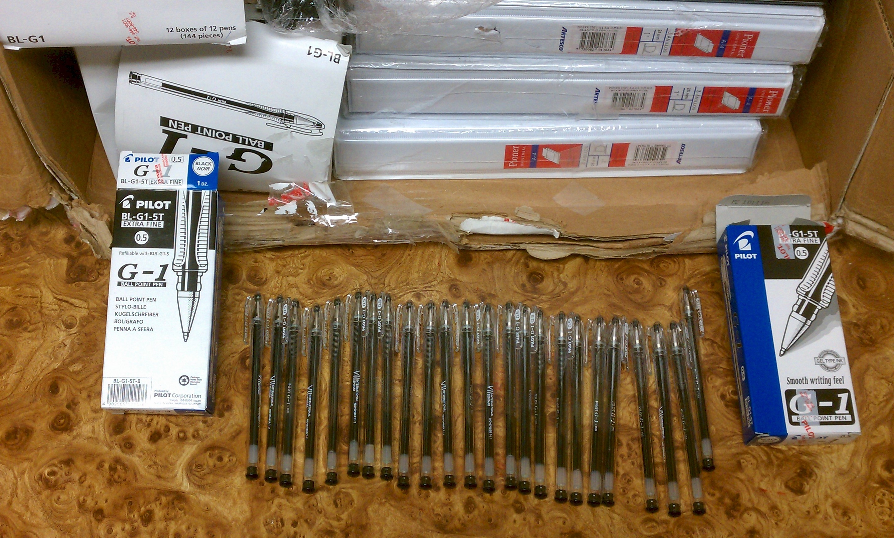 Pens seized by State Police & ICE agents