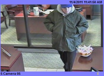 Photo of robbery suspect