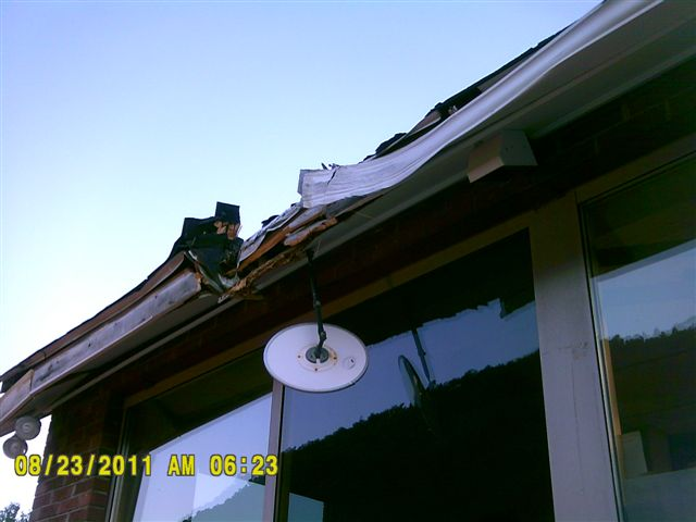 photo of damage