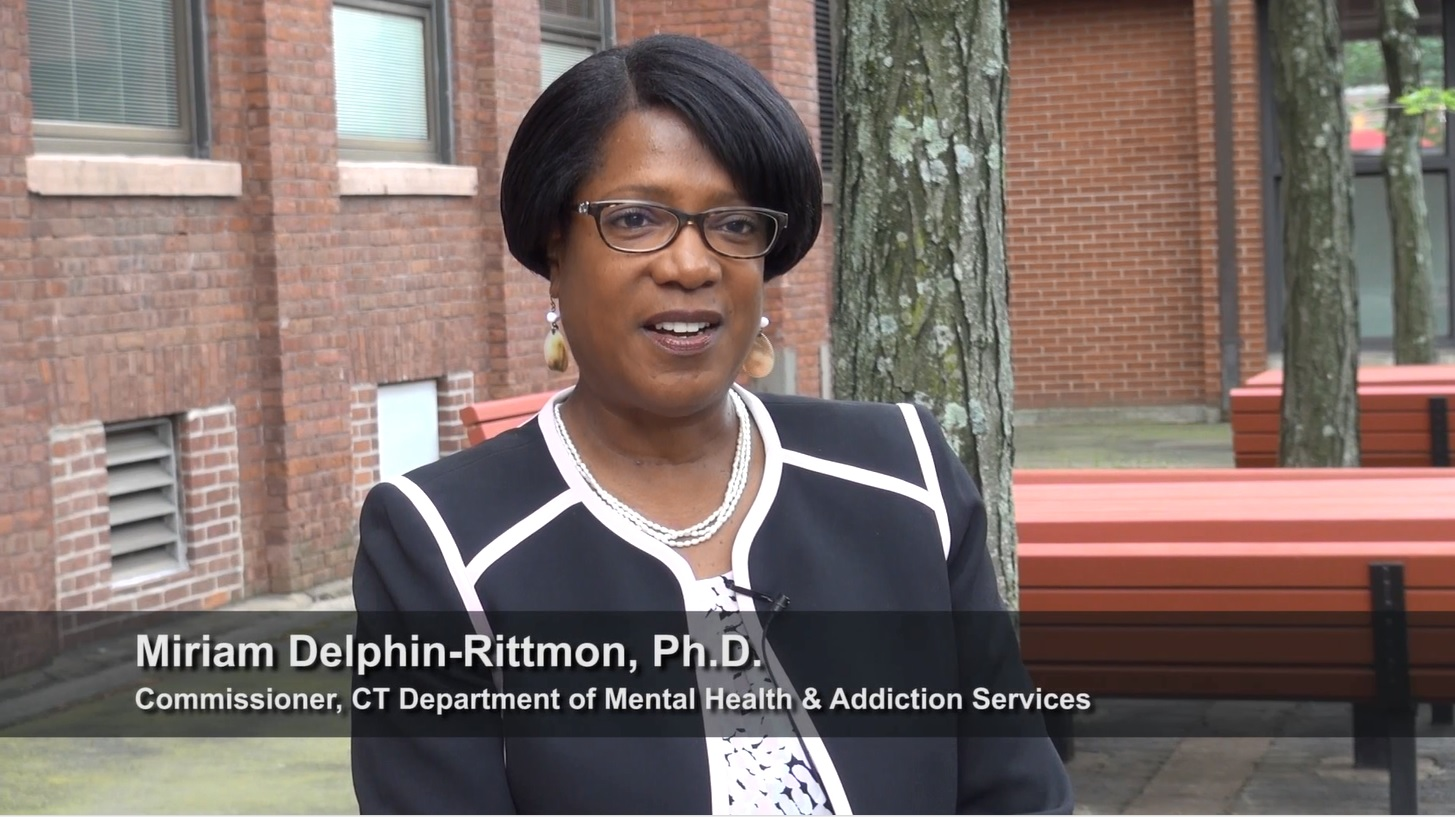 Commissioner Delphin-Rittmon talks about the dangers of underage drinking