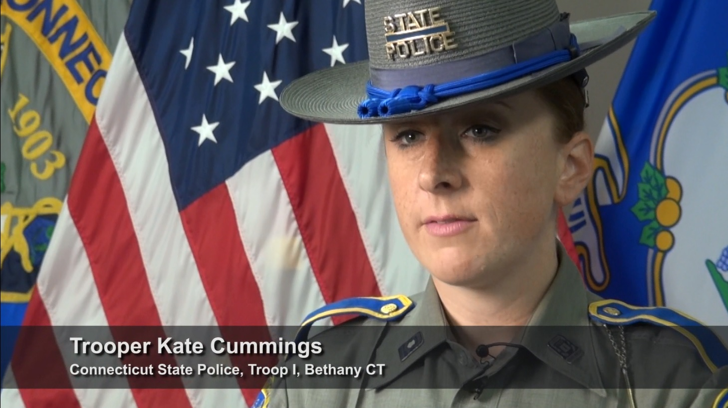 Trooper Kate Cummings talks about the consequences of underage drinking