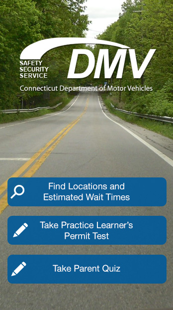 DMV application cover image