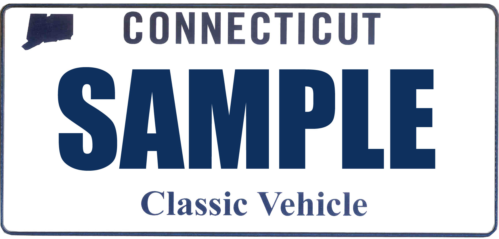 Classic Vehicle plate design