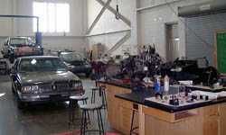 Automotive repair provides instruction and job opportunities upon release.