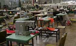 Clothing is manufactured both for agency use and for retail sale.