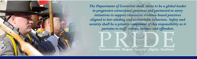 PRIDE - Professionalism, Respect, Integrity. Dignity, Excellence