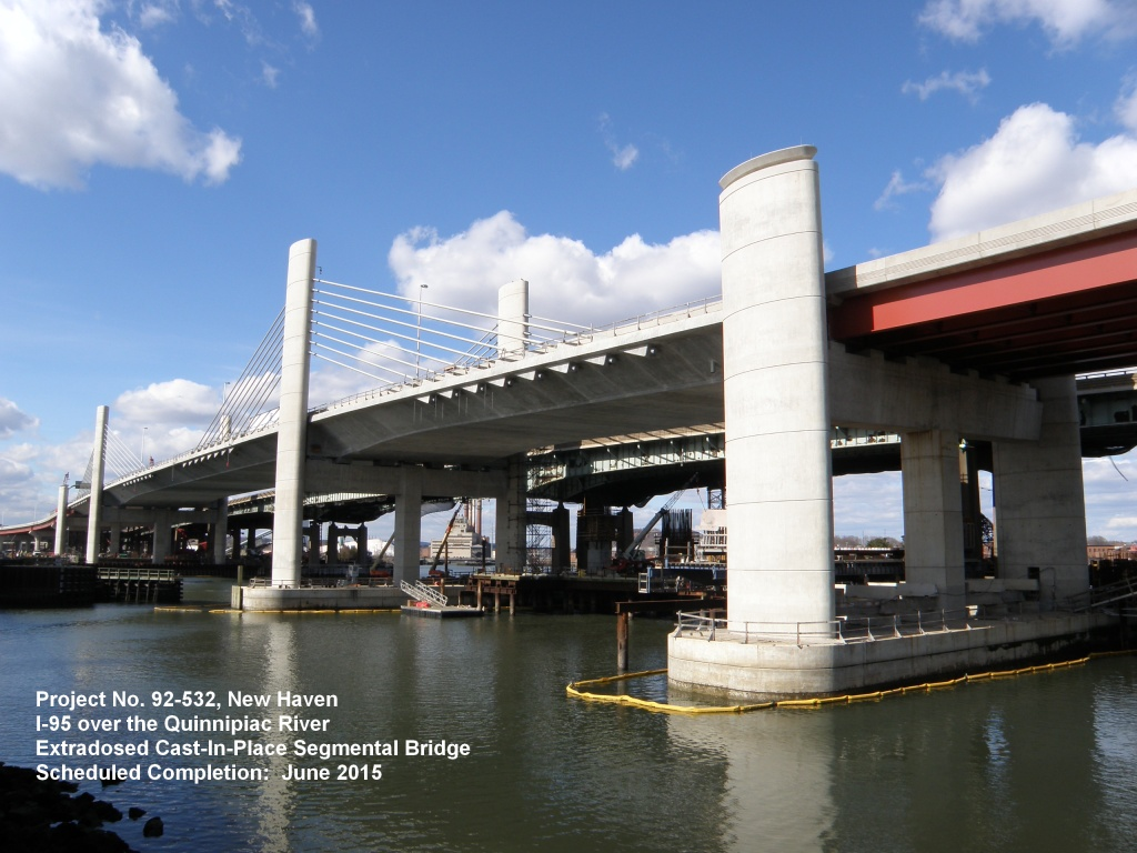 Photo of Project No. 92-532, New Haven, I-95 over the Quinnipiac River