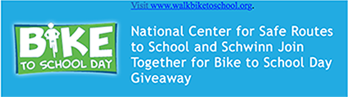 Bike To School Day Giveaway