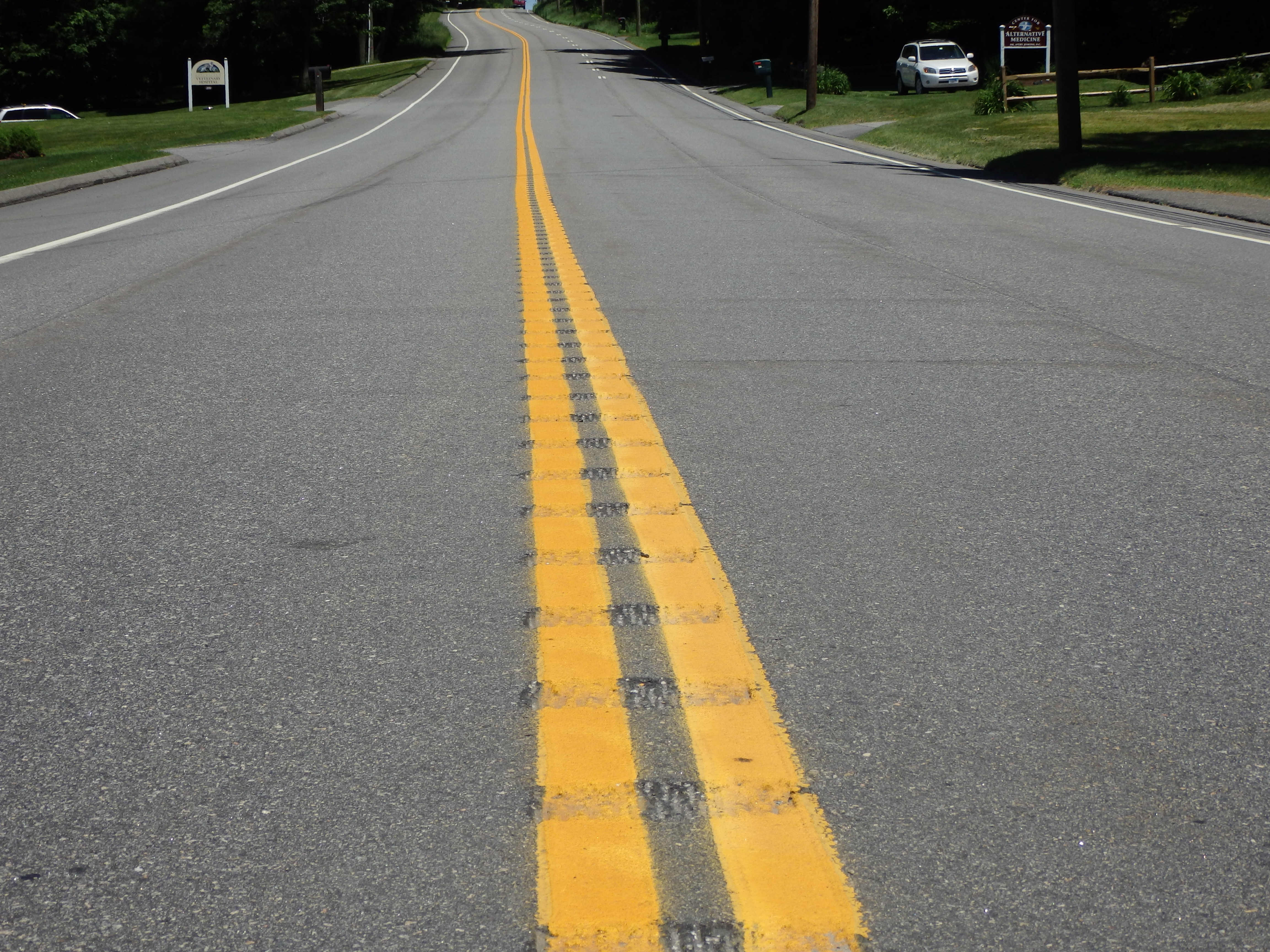 Centerline Rumble Strips in Litchfield, CT