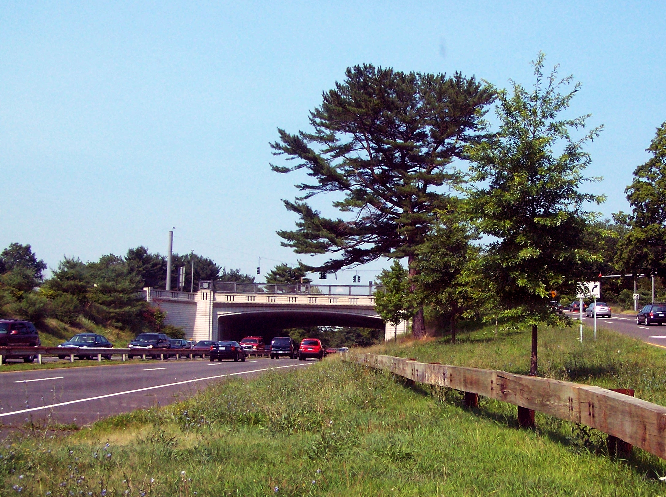 Merritt Parkway Bridge and Landscape